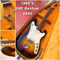 1960's VOX Harlem w/ohsc - $695