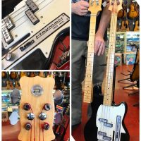 1973 Hayman 4040 bass with extra fretless neck & case - $1,295 Made in England