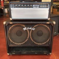 "Late 1970's Mitchell Pro-100 tube head and 2x12"" cab - $895"