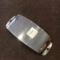 Fender Jazz Bass chrome cover (over pickup) - $40