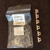 Gibson nylon bridge saddies for 1960's guitars - $60