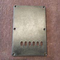 Plate for trem spring Start style blk - $5