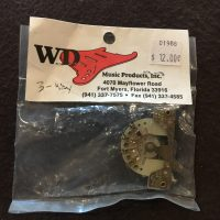 WD three way switch strat style - $12