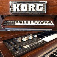 Early 1980's Korg CX-3 portable organ w/ original case - $795
