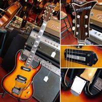 1967 Teisco DG-67 w/ gig bag - $795