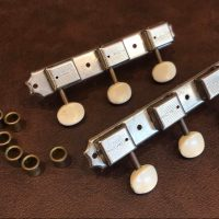 1950's Kluson Deluxe single line tuners w/ bushings & screws - $100