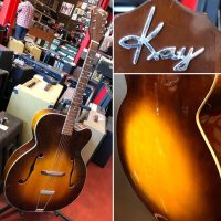 "1952 Kay K-1 17"" Archtop w/ chip case - $895"