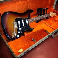 2002 Fender SRV Stratocaster w/ OHSC and extra pick guard - $1,195