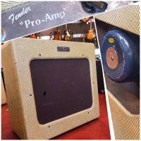 1951 Fender Pro - $2,295 recent re-tweed & handle