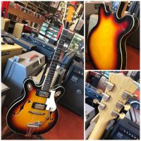 Late 1960's Regent/Greco 335 style made in Japan w/ gig bag- $425