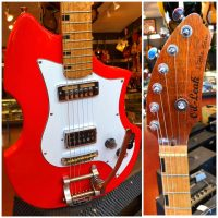 Oil Leak Little Ben w/ gig bag & extra pick-guard - $895
