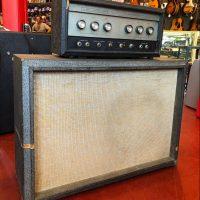 """1965 Silvertone 1483 head & 1X15"""" cab - $750"""