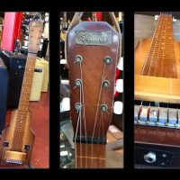 Selmer lap steel with original amp case - $1,200
