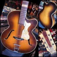 Mid 1960's Hofner 457/S w/ HSC - $650
