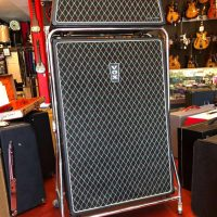 1967-69 Vox Beatle V1143 head & V4141 cab w/ foot switch & covers - $2,500 Has all original Celestion Grey speakers and Midax horns.