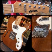 1970's Electra 2270C Blues Rock w/ OHSC - $869