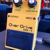 1981 Boss OD-1 Overdrive MIJ - $195