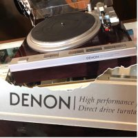 Denon DP-47F turntable - $650