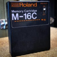 Roland M-16c memory cartridge for JX series synths - $50