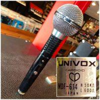 Univox MDF-614 cardioid dynamic mic - $35