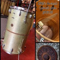 1960's Gretsch Cocktail Drum - $450