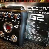 Zoom G2 guitar multi effects - $50
