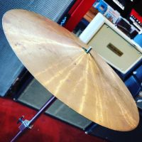 "Unknown vintage 12"" cymbal - $40"