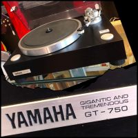 Yamaha GT-750 turntable - $650
