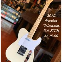 2012 Fender Telecaster TL-STD w/gig bag - $695 Made in Japan