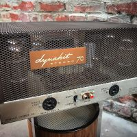 1971 Dynaco Dynakit Stereo 70 tube power amp. 35 watts per channel - $795 Just recently serviced.