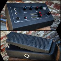 Korg VCF FK-1 synth filter pedal w/expression pedal, cable and box - $550