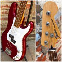 1994-95 Fender PB-STD P Bass w/ gig bag - 795 MIJ