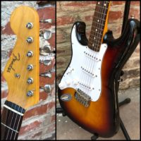 2010-11 Fender Stratocaster lefty MIJ - $695