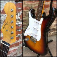 2010-11 Fender Stratocaster lefty MIJ - $695