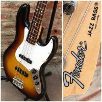 1993-94 Fender Jazz Bass JB-40 MIJ w/ gig bag - $599