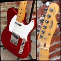 1993-94 Fender Telecaster TL-38 MIJ w/ gig bag - $995
