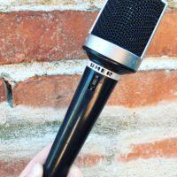 Uher M518 dynamic mic - $100