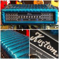 1970's Kustom K300-5 head in cascade sparkle - $495