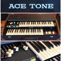 Circa 1978 Ace Tone X-3W combo organ - $1,150