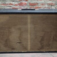 Mid 1960's Fender Bassman 2X12 cab (no speakers) - $200