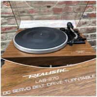 Realistic LAB-270 turntable - $175