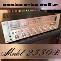 Late 1970's Marantz 2330B stereo receiver (130 watts per chan. @ 8 ohm) - $995