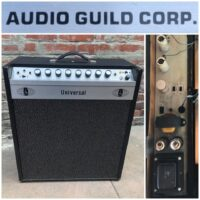 1972 Audio Guild Universal tube amp - $650