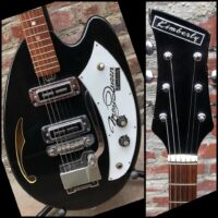 1968 Kimberly (Teisco) MayQueen w/ gig bag - $950