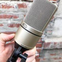 MXL 990 Condenser mic w/ clip - $85