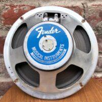 """1977 Utah """"Fender Label"""" 4 Ohm, 8"""" speaker - $95"""