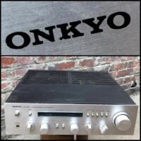 Onkyo A-7070 integrated stereo amp - $150