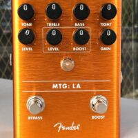 Fender MTG: LA tube distortion pedal w/ box - $120