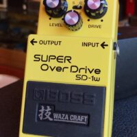 Boss SD-1w Super OverDrive Waza Craft made in Japan w/box - $100