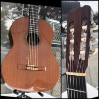 1974 Aria Flemenco guitar hand made in Japan by luthier Ryoji Matsuoka w/ HSC - $500